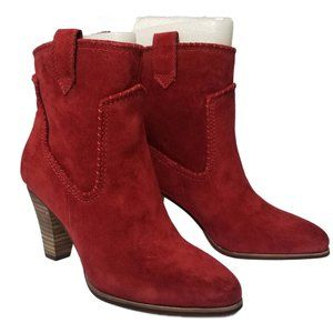Karl Lagerfeld Provence Suede Boot Brick NWT 6.5
